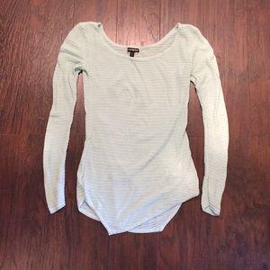 Express Mint Sweater